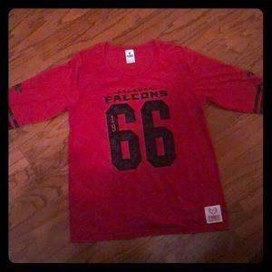 NFL Pink Victoria's Secret Falcons T-shirt